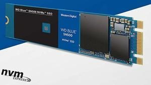 WD Blue SN500: SSD M.2 PCIe à petit prix