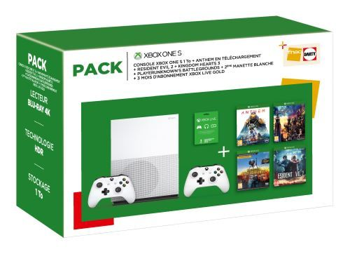 Pack-Fnac-Console-Microsoft-Xbox-One-S-1-To-2eme-manette-Anthem-Legion-of-Dawn-Edition-Resident-Evil-2-Kingdom-Hearts-3-PlayerUnknown-s-Battlegrounds-3-mois-de-Live-Gold.jpg