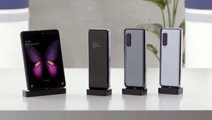 Le Samsung Galaxy Fold dévoile sa pliure en vidéo