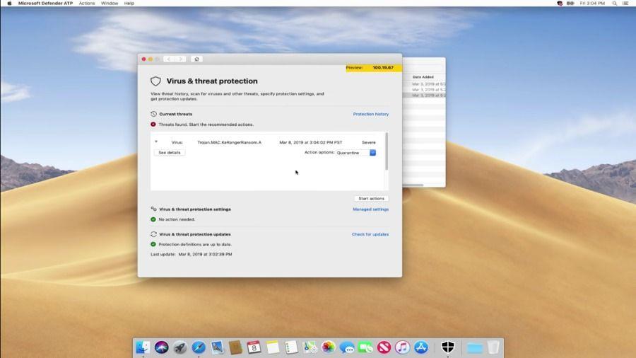 Microsoft Defender ATP pour MacOS
