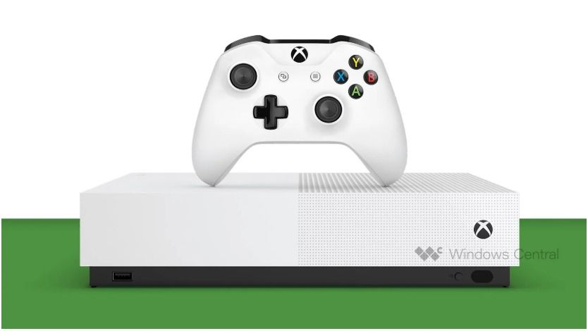 Xbox One S All Digital par Windows Central