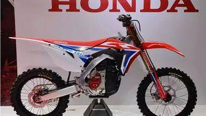 Honda dévoile une moto-cross électrique au salon de Tokyo