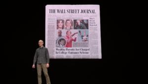 Apple News+: 9,99$/mois pour 300magazines… aux États-Unis