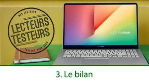 Lecteurs-Testeurs Asus VivoBook S14: le bilan