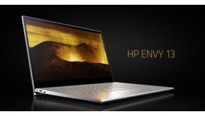 L'ultraportable Envy 13 de HP promet presque 20 h d'autonomie
