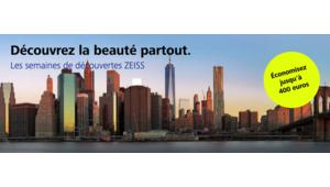 Bon plan – Jusqu'à 400€ de réduction sur les objectifs Zeiss