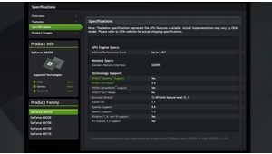 Nvidia GeForce MX250 et MX230 pour laptops: plusieurs variantes