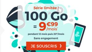 [MàJ] Bon plan – Forfait Cdiscount 100 Go à 9,99€/mois pendant un an