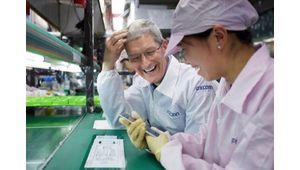 Foxconn va fabriquer davantage d'iPhone en Inde
