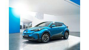 Toyota présente un C-HR électrique pour la Chine