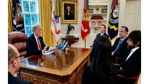 L'improbable rencontre entre le PDG de Twitter et Donald Trump