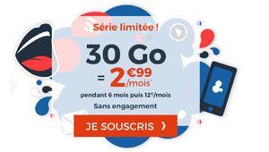 Bon plan – Cdiscount Mobile relance son forfait 30Go à 2,99€/mois