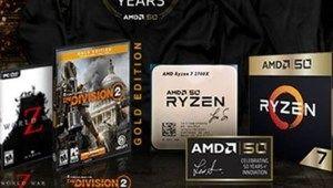 Un Ryzen 72700X Gold Edition pour fêter les 50 ans d'AMD