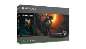 French Days – Xbox One X + Tomb Raider à 369 € ou avec 2e pad à 379 €
