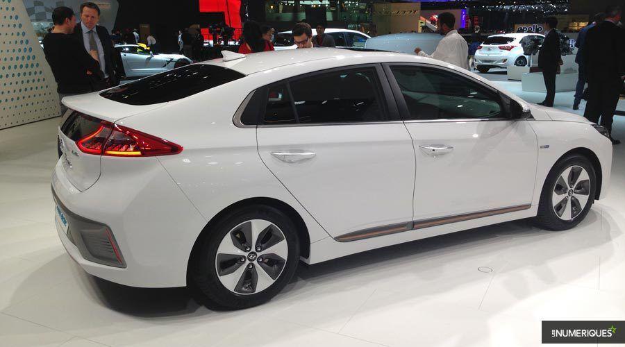 Hyundai IONIQ EV 2020 : nouvelle batterie, nouvelle