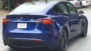 La Tesla Model Ysurprise à rouler