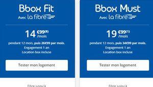 Bon plan – La fibre avec Bbox Fit pour 14,99€ pendant un an