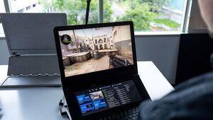 Intel imagine le PC portable gamer du futur avec deux écrans