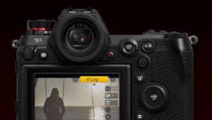 La mise à jour pour le Panasonic Lumix S1 avec V-Log proposée à 199€