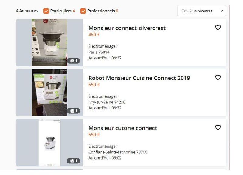 Le Monsieur Cuisine Connect De Lidl Sur Leboncoin Un