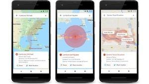 Aux abris! Google Maps affiche désormais les catastrophes naturelles
