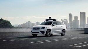 Uber et Volvo présentent la version de série de leur XC90 autonome