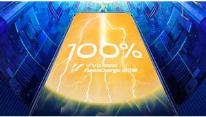 Vivo promet une batterie chargée à 100%  en 13minutes seulement