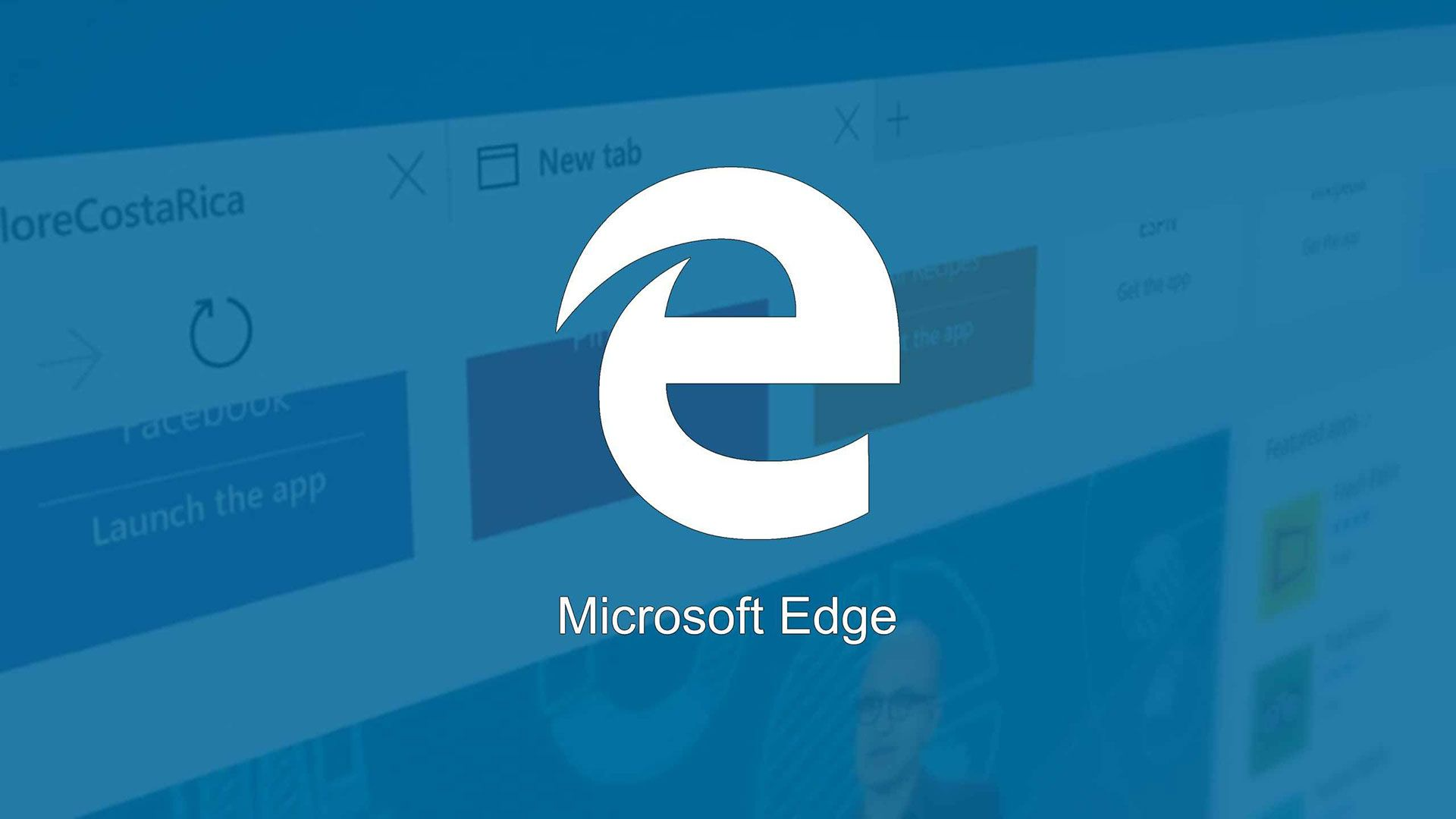 Microsoft edge vignette
