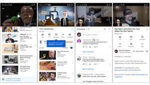 Android: YouTube finit par cacher les commentaires par défaut