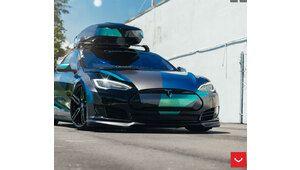 Les voitures électriques Tesla, nouvelles reines du tuning