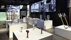 Dyson ouvre son premier magasin à Paris