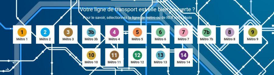 Zone5G : les meilleurs lignes de métro pour se connecter en 4G