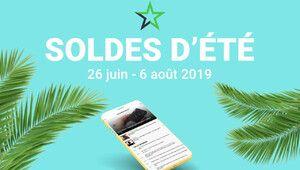 Soldes d'été 2019 – Des dizaines d'offres dès mercredi 8 heures