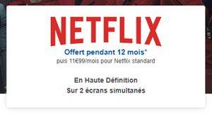 Bon plan – Bouygues Telecom offre Netflix avec certains forfaits
