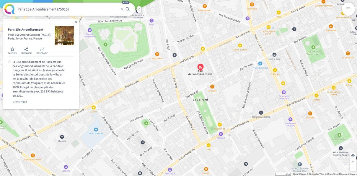Qwant Maps points d'int%C3%A9r%C3%AAt