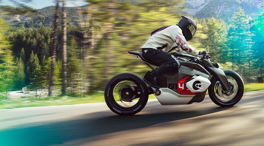 BMW Motorrad Vision DC Roadster, la moto boxer nouvelle génération