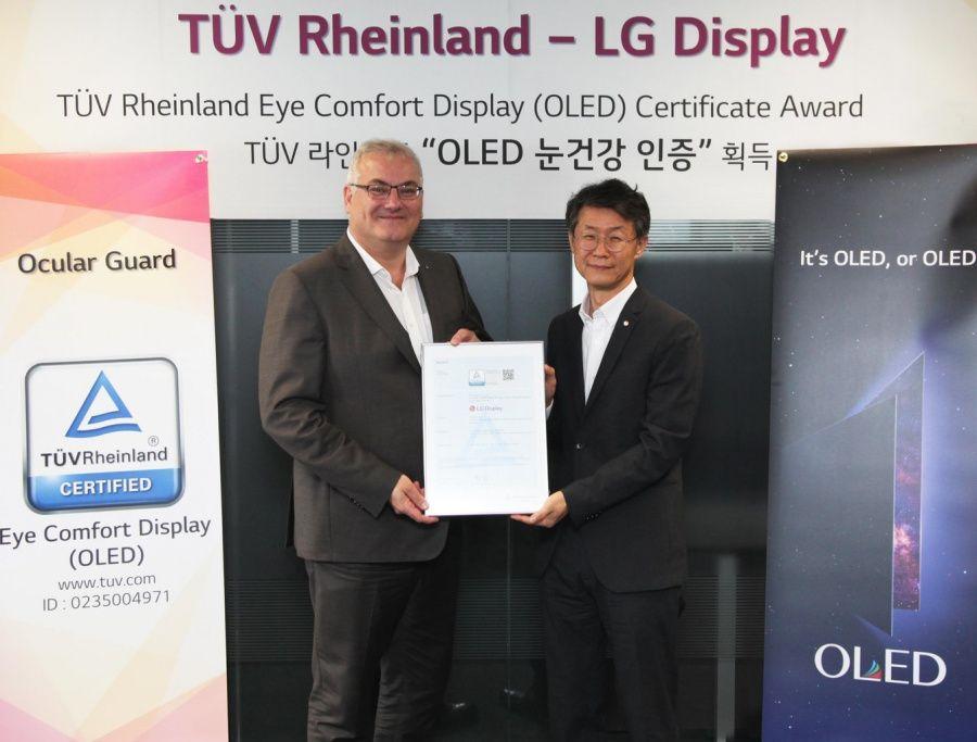 (Photo) LG Display receives Eye Comfort Display certification from TÜV R-b8752169-ff10-4303-8426-29432273ed9d.jpg