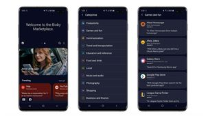 Samsung tente de démocratiser Bixby en lançant un app store dédié
