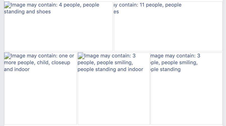 La panne de Facebook a révélé comment sont analysées nos photos