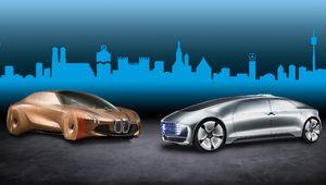 Voiture autonome: BMW et Daimler joignent leurs forces