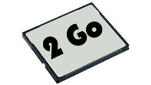 Le prix des CompactFlash 2, 4 et 8 Go