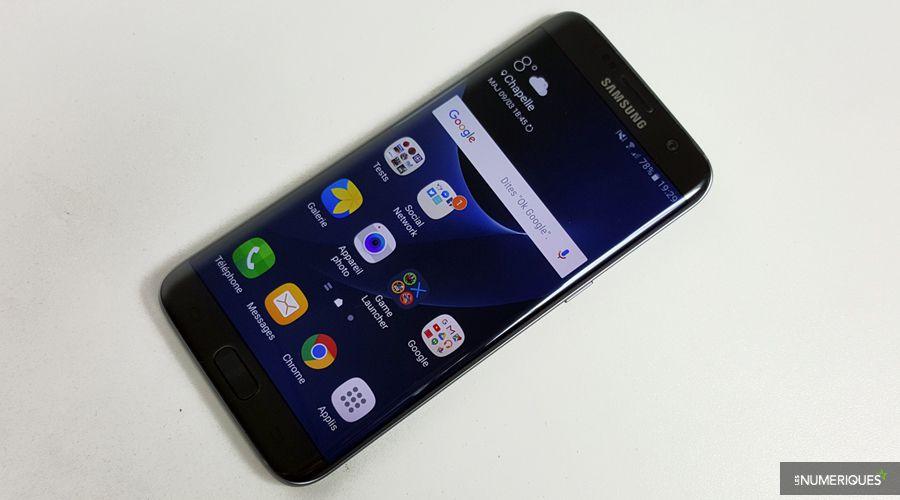 Samsung galaxy s7 edge face table ok