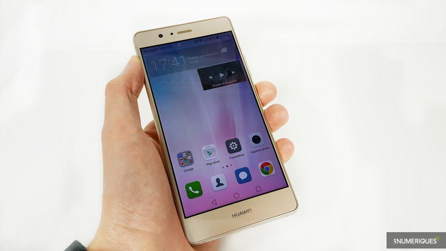 Huawei p9 lite face