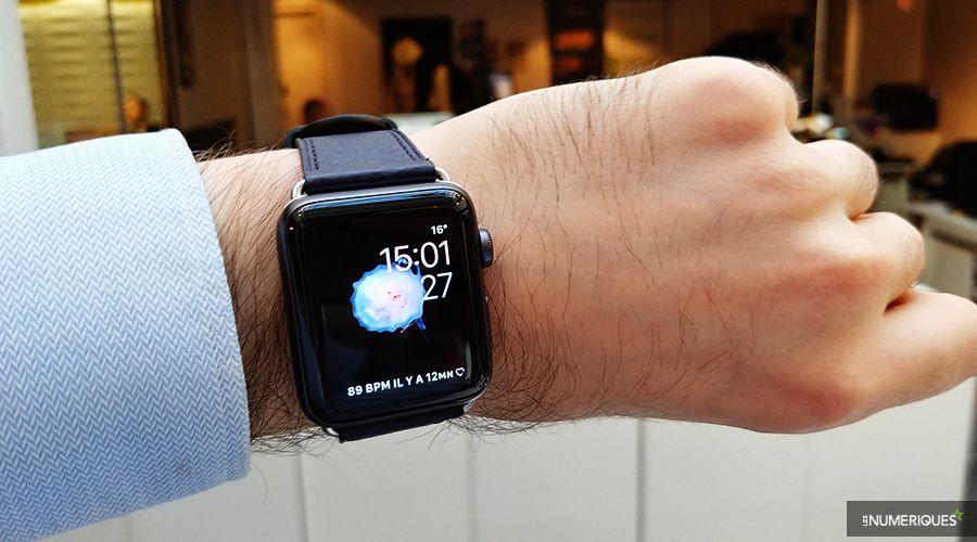 Apple watch poignet
