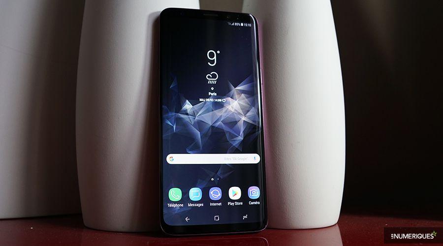 Galaxy s9 plus face