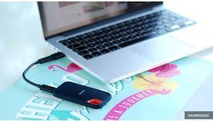 Bon plan – Le SSD externe SanDisk Extreme Portable 500Go à 100€