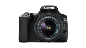 Canon EOS 250D, le reflex avec de la 4K pour bien commencer la photo
