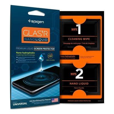 Spigen Glas tR nanoliquid pour iPhone XR