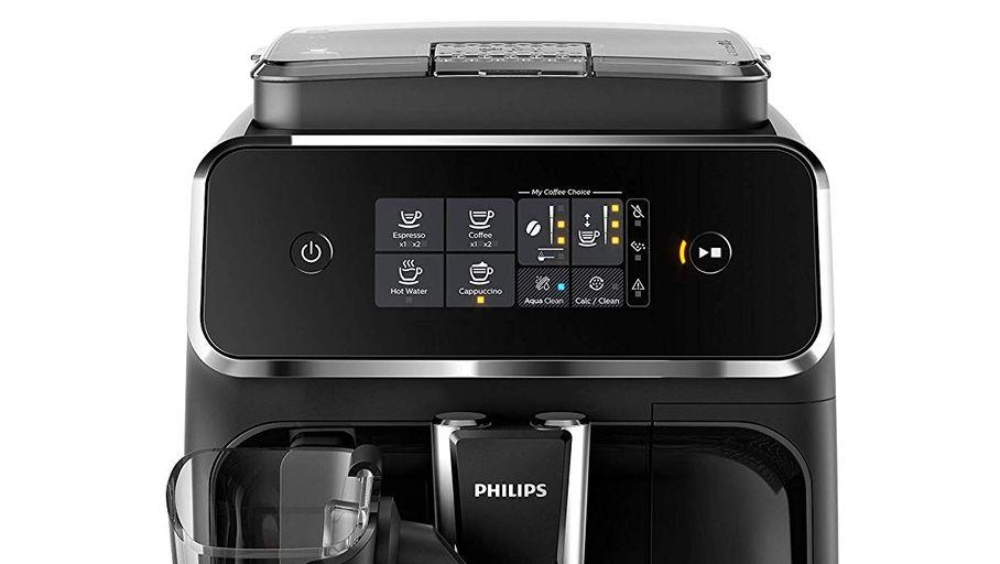 Cafetière automatique avec broyeur Philips EP2231/40 : parfaite pour s'essayer au café en grains