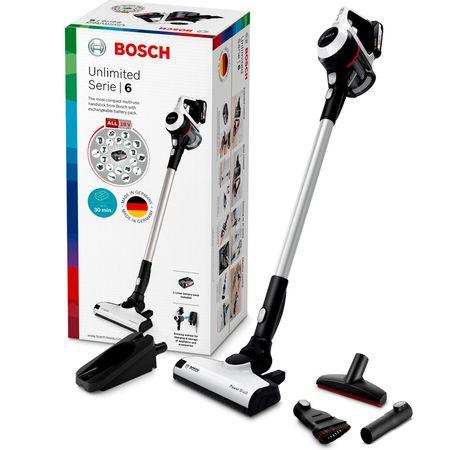 Test Aspirateur balai Bosch Unlimited Série 6 BCS6113 : plus
